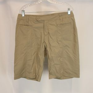 Royal Robbins Women's 10  W32 L12 Shorts Tan Nylon